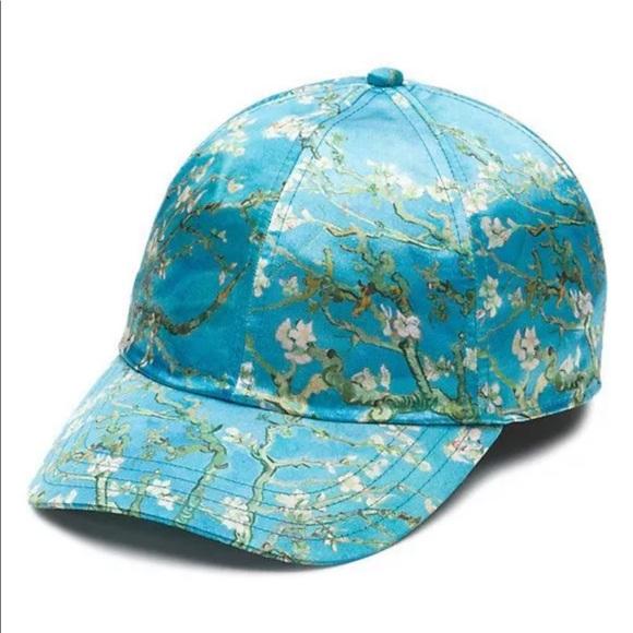 Vans Women s Rare Van Gogh Almond Blossom Cap 1aa0ee8d1